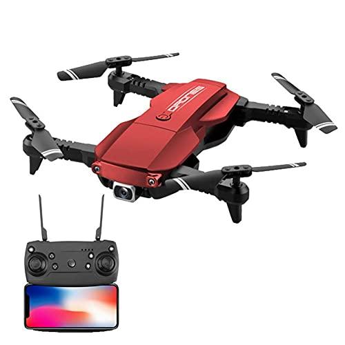 Mini Drone RC Pieghevole con Mantenimento dell'altitudine e modalit Senza Testa Quadricottero Tascabile giroscopico a 6 Assi da 2,4 GHz con Un Pulsante a 360 GradiFlip e 8-10 Minuti di Volo, Regalo