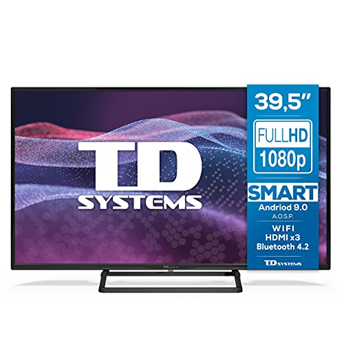 TD Systems K40DLX11FS - Televisores Smart TV 39,5 Pulgadas...