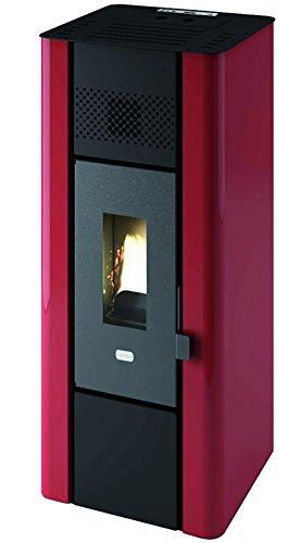 Punto Fuoco 9801650 Stufe Pellet Minni, 6300 W, Nero