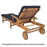 HAVE A SEAT Luxury – Liegenauflage, Auflage Gartenliege - 5