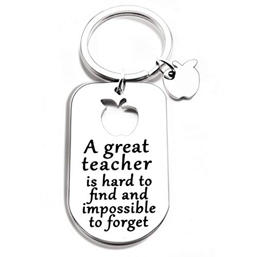 Teacher Gift Keychain for Women Men Coach Tutors -...