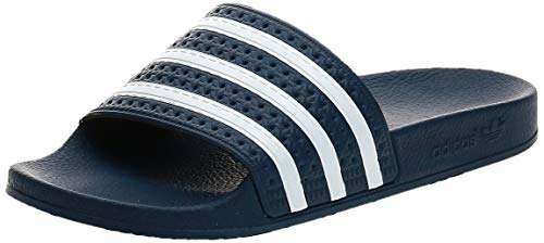 adidas Adilette Chanclas Hombre, Azul (Adiblu/White/Adiblu), 43 EU (9 UK)