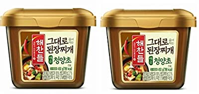 CJ Premium Dadam Soybean Paste(Doenjang) Seasoning for Stew 530g CJ Haechandle Soybean Paste Clam & Crab, Spicy Hot Gochu 450g Sempio Tojang, Soybean Paste for Soup 450g Chungjungone Sunchang Doenjang Soy Bean Paste with Anchovy and Clam 450g We will...