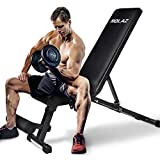 Adjustable Weight Bench for Exercise Strength Training, Workout Bench for Home Gym Bench Press, Foldable Sit Up Bench