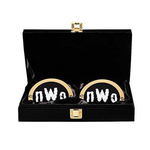 nWo WWE World Heavyweight Championship Replica Titel Side Plate Box Set