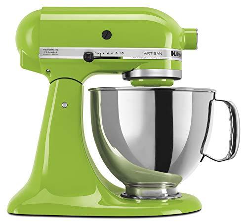 KitchenAid KSM150PSGA Artisan Series 5-Qt. Stand Mixer with Pouring Shield - Green Apple