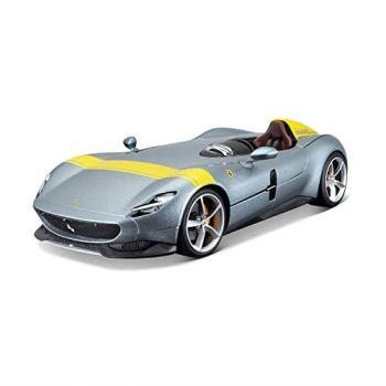 Bburago B18-16013 1:18 Ferrari Race & Play-Monza SP1, Gray