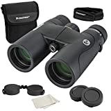 Celestron – Nature DX ED 10x42 Premium Binoculars – Extra-Low Dispersion (ED) Objective Lenses – Multi-Coated Optics –Phase-Coated BaK-4 Prisms – Binoculars for Bird Watching, 72333,Black