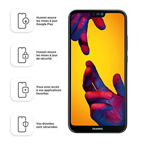 Huawei P20 Lite Smartphone 5.84' FHD+ 64GB, Dual SIM, Nero
