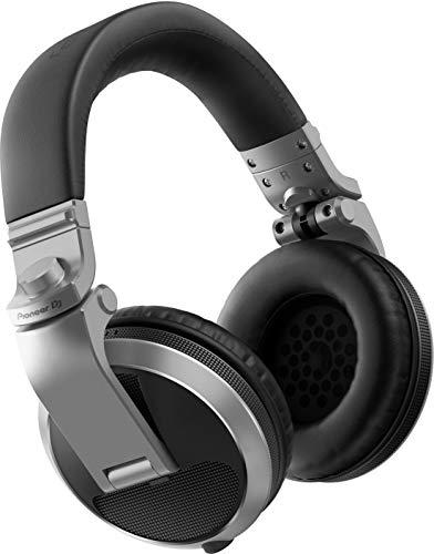 Pioneer HDJ-X5 Circumaural Diadema Plata - Auriculares (Circumaural, Diadema, Alámbrico, 5 - 30000 Hz, 1,2 m, Plata)