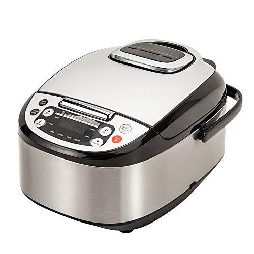 Robot de Cocina Multifunción con Voz, Programable 24 horas, Capacidad de 5 Litros (10...