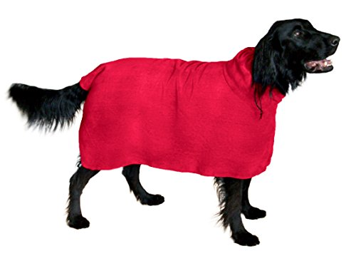 THE SNUGGLY DOG Easy Wear Dog Towel. Luxuriously...