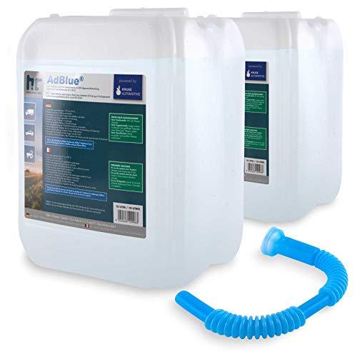 AdBlue® 2 x 10 L - Auto Harnstofflösung von Kruse Automotive verringert Emissionen von Stickstoffoxiden um 90{8278455e0b663bae2146f8e97ba482190fa1b6ed2a9f7f4b7eb934903ca041e7} bei SCR-Systemen - Höfer Chemie