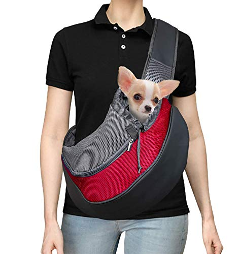 Pet Carrier Hand Free Sling for Cats Dogs Bunny...