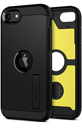 Spigen Tough Armor Designed for Apple iPhone SE 2020 Case - Black