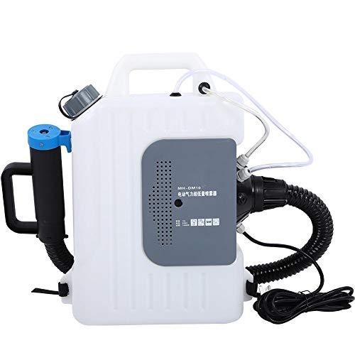 Focket Atomizzatore per Zaino, 220V 1400W 10L 8-12m Nebulizzatore Elettrico Multiuso a Lunga Distanza Nebulizzatore per Zaino Pompa per Nebulizzazione per Uso Agricolo e Cura del Giardino