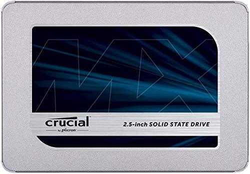 Crucial SSD 1000GB MX500 内蔵2.5インチ 7mm MX500 (9.5mmスペーサー付属) 5年保証 【PlayStation4 動作確...