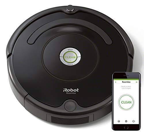 iRobot Roomba 671 - Robot aspirador suelos duros y alfombras, tecnología Dirt Detect, limpieza en 3 fases, wifi, programable por app, compatible con Alexa