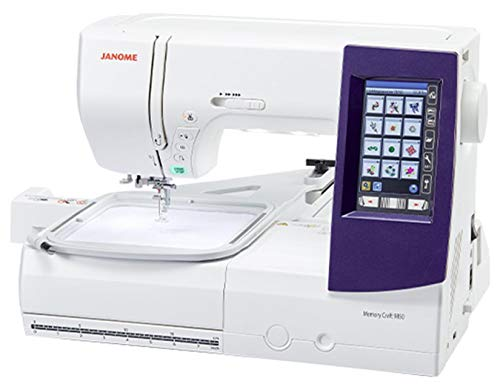 Janome 9850 Embroidery and Sewing Machine