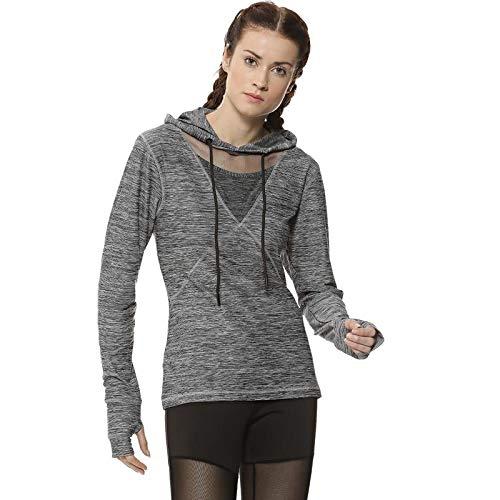 Campus Sutra Women Thumb Hole Sports Sweatshirt(AZCSJ118JK_HFSVD_W_PLN_GR_AZ_XL) Grey