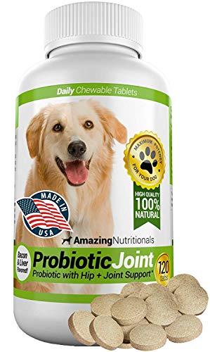 Amazing Probiotics for Dogs Eliminates Diarrhea...