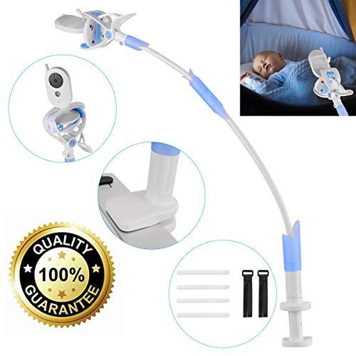 Soporte para Cámara de Bebés, Soporte para Monitor Flexible de Aleación de Aluminio para Guardería Soporte Universal Compatible con la mayoría de Teléfonos & Monitores de Bebés.