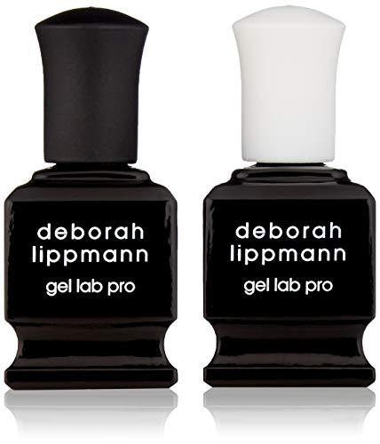 DEBORAH LIPPMANN Top and Base Coat, Gel Lab Pro Full Size, 0.5 fl. oz.