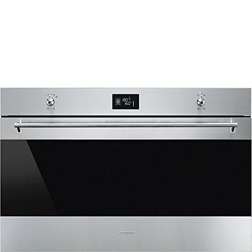 Smeg SF9390X1 forno Forno elettrico 115 L 3100 W Nero, Acciaio inossidabile A+