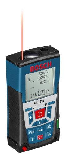 Bosch GLR825 Laser Distance Measurer, 825', Blue (Discontinued by Manufacturer)
