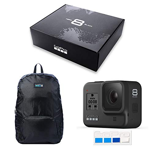 【GoPro公式限定】GoPro HERO8 Black 初回限定BOX CHDHX-801-FWB + 非売品ステッカー 【国内正規品】