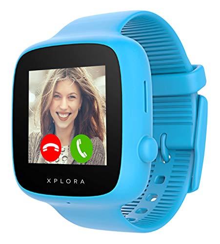 XPLORA GO - Telefon Uhr für Kinder (SIM-frei) - Anrufe, Nachrichten,...