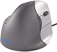 Evoluent VM4R VerticalMouse 4 Right Hand Ergonomic Mouse with Wired USB Connection..