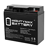 Mighty Max Battery 12V 18AH SLA Battery for Briggs Stratton Generator B4489GS 193043GS Brand Product