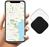 Kimfly Key Finder Smart Tracker 2Pack Black and White Color Item Finder Phone Finder Bluetooth Tracker Smart Tag