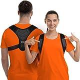Posture Corrector for Men and Women, Upper Back Brace for Clavicle Support, Adjustable Back Straightener and Providing Pain Relief from Neck, Back & Shoulder, (Universal) (Regular) (Posture Corrector 2021 Design 2)