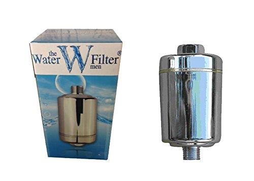The Water Filter Men Inline - Filtro para Ducha - Universal - BS2 - El Cloro y Cal Ducha Filtro de Agua