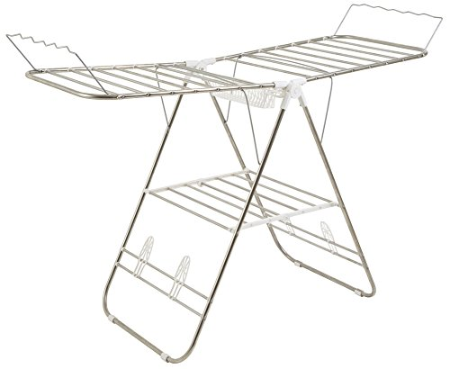 Heavy Duty Laundry Drying Rack- Stainless Steel Clothing Shelf for...