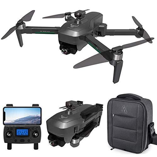 Drone GPS, Drone WiFi 5Gcon videocamera HD 4K, Gimbal a 3 assi, Quadricottero RC con motore Brushless, Posizionamento del flusso ottico, Funzione di prevenzione degli ostacoli, Seguimi, 1 Batter