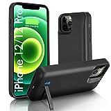 iPhone 12/12Pro 対応バッテリーケース 【6000mah大容量】急速充電 バッテリー内装ケース スマ……