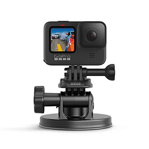 GoPro Suction Cup+ Fissaggio per GoPro, Nero/Antracite