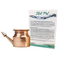 Neti Pot Nasenspülkännchen für die Nasenspülung - Neti Pot aus Kupfer - Neti Lota Medizinprodukt - 200 ml