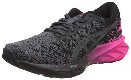 ASICS Dynablast, Zapatillas Mujer, Black/Pink GLO, 38 EU
