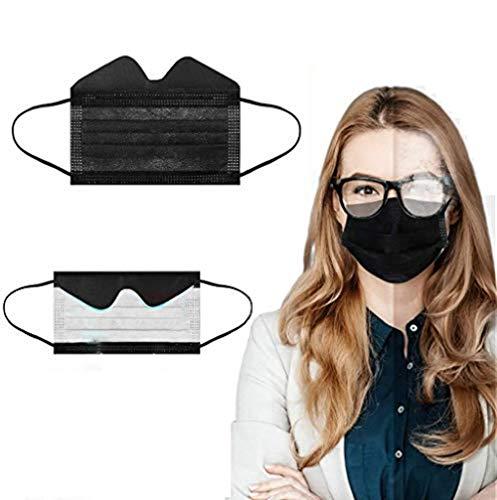 Zwinkle 30/50/100Pcs Advantageprotección Facial Negro de Una Sola Vez...