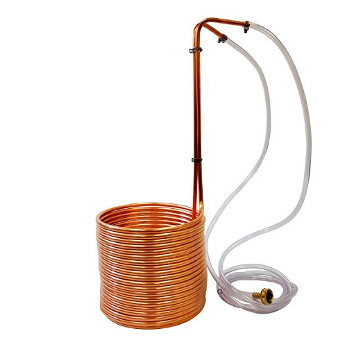 NY Brew Supply copper wort chiller, 3/8