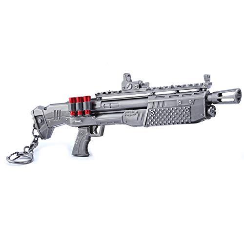 Juegos en metal 1/6Heavy Shotgun Gun modelo de acción Figure Arts Toys Collection llavero regalo