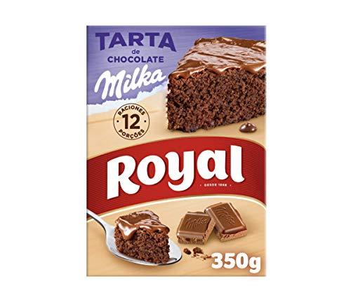Royal Tarta de Chocolate Milka, Preparado en Polvo, 12 Racio