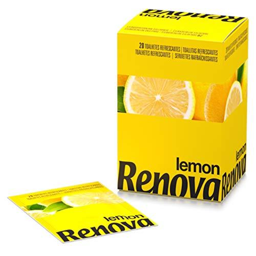 Renova Toallitas Refrescantes De Limón - 20 Toallitas