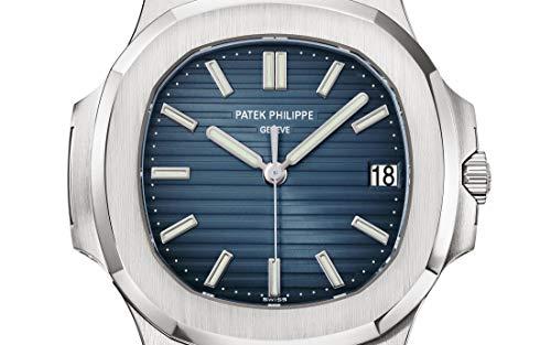 Patek Philippe 5711/1A-010 Automatic Black-Blue Dial Luxury Men's Watch 5