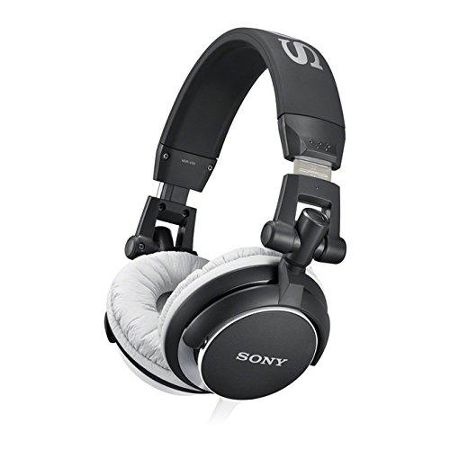 Sony MDR-V55 Cuffie Chiuso DJ, 105 dB, 40 , Nero/Bianco