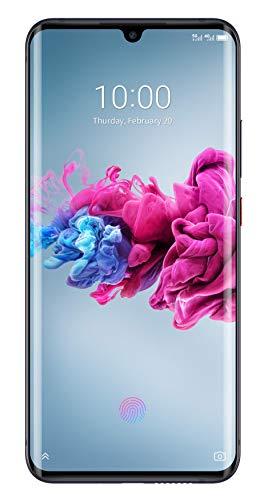 ZTE Smartphone AXON 11 5G (16.43 cm (6.47 Zoll) AMOLED Waterdrop Display, 128GB interner Speicher und 6GB RAM, 64MP Hauptkamera, 20MP Frontkamera, NFC, 5G, Android 10) schwarz